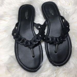 Seychelles | Braided Leather Thong Sandal